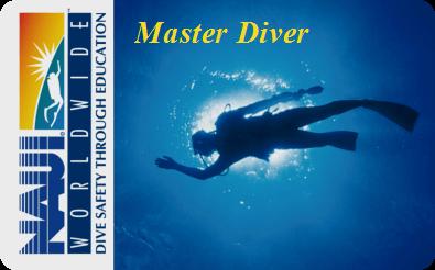 NAUIマスターダイバー|横浜ダイビングスクール セブン
